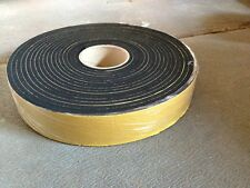 NEOPRENE sponge self adhesive foam strip 38mm x 6mmx 10m *more sizes available*