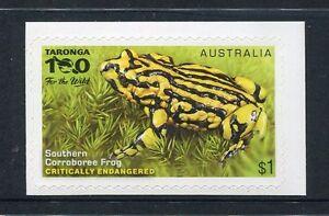 2016 Endangered Wildlife - $1 Southern Corroboree Frog Booklet Stamp