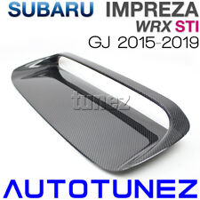 Carbon Fiber Air Hood Scoop Intake Vent Bonnet For Subaru WRX STI GJ 2015 2016 A