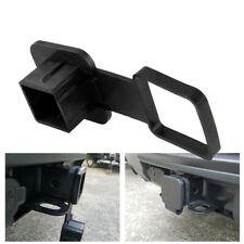 Trailer Hook Dust Plug Hitch Receiver Plug Cover Cap Dust Protector Truck Black