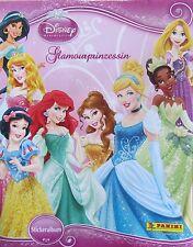 Disney princess/glamour princesse/Leeralbum/sticker album/panini