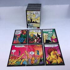 PLASM COMIC PANEL ART CARDS (DEFIANT/1993) Complete Trading Card Set JIM SHOOTER