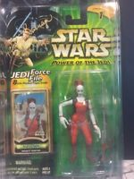 STAR WARS Aurra Sing SIGNED POWER OF THE JEDI Michonne Bourriague.