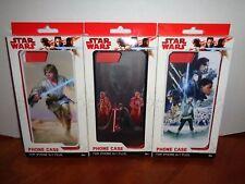 Lot of 3 Star Wars Iphone 6/7 Plus Phone Cases Kylo Ren, Luke Skywalker, Rey