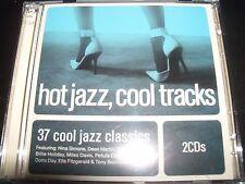 Hot Jazz Cool Tracks Various 2 CD Nina Simone Miles Davis Dean Martin Doris Day