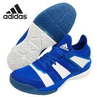 adidas Stabil X Unisex Badminton Shoes Training Blue Shuttlecock Racquet BB1804