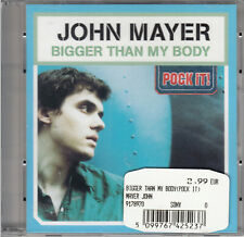 "John Mayer - Bigger Than My Body (3"") Mini Pock it CD 2003 Soft Rock"