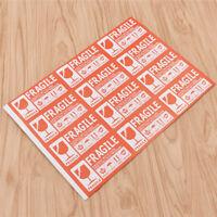 50x Stickers Etikett Best Vorsicht Zerbrechlich Zeichen FRAGILE Handle With Care