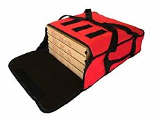 """Pizza Delivery Bags Thick Insulated (Holds up to Five 16"""" or Four 18"""" Pizzas)."""