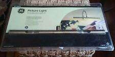 "GE Picture Light Incandescent Kit light Vintage Antique Brass Finish New 16"""