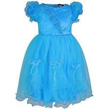 Robes bleus habillés pour fille de 4 à 5 ans