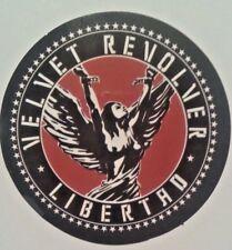 "Velvet Revolver~Libertad~Decal Sticker Adhesive Vinyl~2 5/8"" Round~Ships FREE"