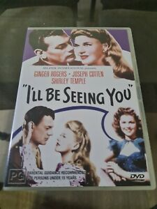 I'll Be Seeing You (DVD, 2005) Ginger Rogers Shirley Temple Region 4