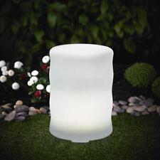 XL LED Solarleuchte Welle Leuchte 28x40cm Farbwechsel RGB LK10 Gartenleuchte*