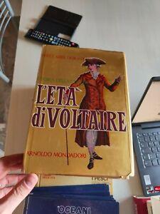 STORIA DELLA CIVILTA' L'ETA' DI VOLTAIRE - DURANT WILL - DURANT MONDADORI