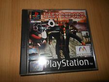 Playstation 1 PS1  - The Last Report MINT COLLECTORS PAL VERSION