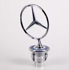 Mercedes-Benz Star Hood Logo Emblem Badge 3D w210 w220 w221 w204 Silver