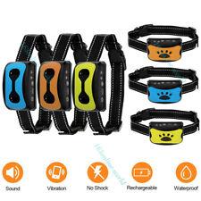 Waterproof Auto Anti Bark Dog Collar Stop Barking No-Shock Trainer Rechargeable
