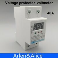 2p 60a 220v Automatic Reconnect Over Voltage And Under Voltage Protection Protec