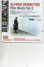 Schnittke - Film Music Vol 5 - Mint CD - 2021 - RSO Berlin - The Favorite etc
