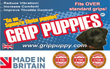 GRIP PUPPY - ULTIMATE COMFORT GRIPS - REDUCE VIBRATION, IMPROVE COMFORT.
