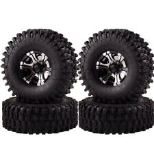 "1050-7037 RC Rock Crawler 1.9""  Metal Wheel Rim & 120MM Super Swamper Tyre 1/10"