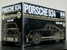 """Rare Tamiya RC 1/12 Black Porsche 934 """"Limited Edition # 222"""" GT-01 Chassis Kit"""