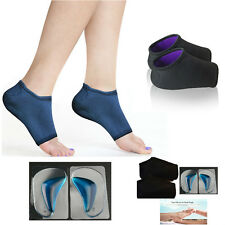 Plantar Fasciitis Wraps Arch Support Gel Insoles Pro Foot Metatarsal Health Kit