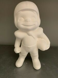 Football Player Smiley *Ceramic Bisque Ready to Paint