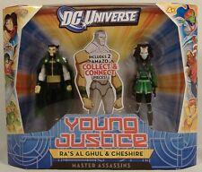 RA'S AL GHUL & CHESHIRE YOUNG JUSTICE  DC UNIVERSE ASSASSINS MISB AMAZO BAF 2011