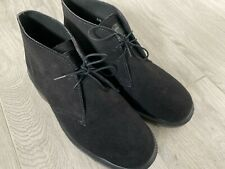 Solovair 2 Eye Chukka Black Suede * UK 7 * Made in England * Excellent Condition