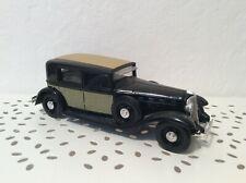 VOITURE Renault Reinastella Type RM2 1934 1/43 n°97 VEHICULE SOLIDO JOUET LOOSE