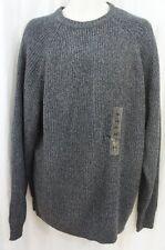Weatherproof Vintage Pullover Sz XXL Dunkelblau Strickpullover Acryl