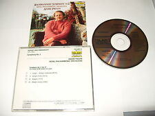 Andre Previn Rachmaninoff symphony no 2 -4 track cd japan 1985 cd is Nr Mint