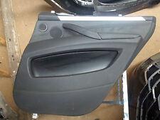 BMW E 70 / X5 , Türverkleidung hinten rechts , Leder schwarz , Nr. 22
