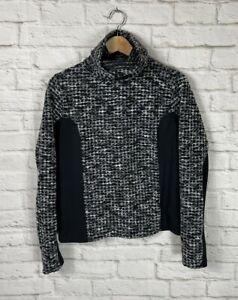 NIKE PRO Hyperwarm Womens Black Long Sleeve Turtleneck Shirt Size Large
