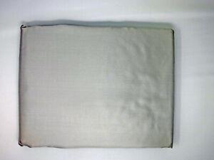 1A Seidenbettwäsche Bettwäsche Seide SATIN 135x200/80x80cm silber grau