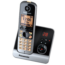 Panasonic KX-TG6723GB trio schwarz DECT-Schnurlostelefon Anrufbeantworter