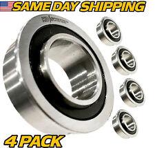 (4 Pack) Flange Bearings Replaces Dixon 539117197 w/ Hi-Temp Grease Upgrade