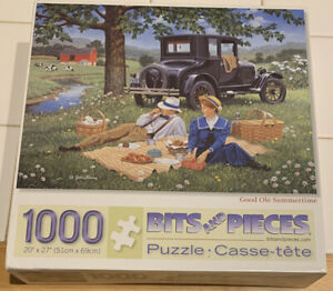 GOOD OLE SUMMERTIME PUZZLE  BITS AND PIECES 1000 PIECE PUZZLE BY JOHN SLOANE