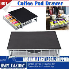 Hot Coffee Machine Stand Capsule Pod Storage Drawer For Dolce Gusto CAPSULE AU