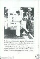 Good Humor,Ice Cream,sales,book,dairy,truck,carts,diner,advertising,bungalow,bar