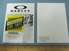 OAKLEY 2013 snowboard DANNY KASS promotional counter display New Old Stock