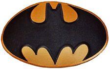 "DC Comics Batman Large Bat Symbol Logo 9 1/2"" Wide Jacket Patch"