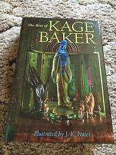 THE BEST OF KAGE BAKER  Baker 1st ed 250 COPY LEATHERBOUND LIMITED retrospective