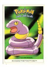 Pokémon Gotta catch'em all n° 23 - EKANS - RETTANT - ABO  (A4717)