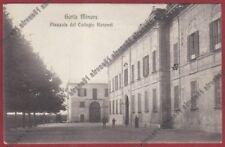 VARESE GORLA MINORE 08 COLLEGIO ROTONDI - SCUOLA Cartolina viaggiata