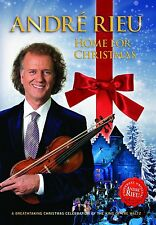 ANDRE RIEU - HOME FOR CHRISTMAS  - DVD - PAL & Region 2 - New