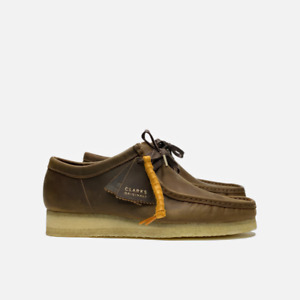 Clarks Originals Wallabee Men's Leather Shoes Beeswax