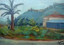 "EDOARDO GORDIGIANI (1867-1961)  "" PAESAGGIO CON CASOLARE """